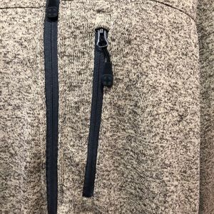 swiss tech Jackets & Coats - Swiss Tech Taupe Full Zip Sweater Jacket 3XL 54/56